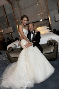 coco lee and Bruce Rockowitz wedding